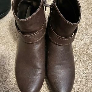 Size 7 Medium Booties by Laura Ashley